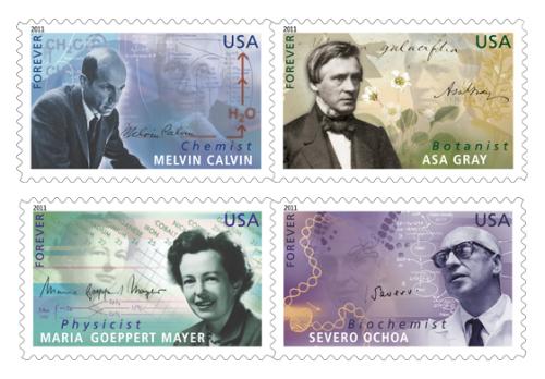 U.S. Postal stamps