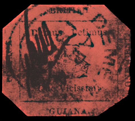 British Guiana One Cent Magenta