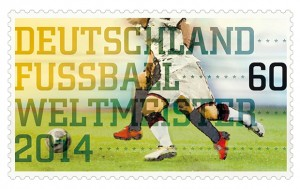 Germany 2014 World Cup stamp