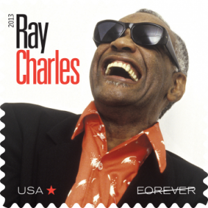 Ray Charles - Music Icon series - USPS  stamp