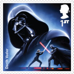 UK Darth Vader StarWars postage stamp