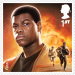 UK Finn StarWars postage stamp