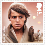 UK Luke Skywalker StarWars postage stamp