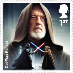UK Obi-Wan Kenobi StarWars postage stamp