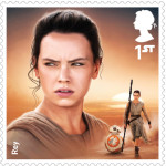 UK Rey StarWars postage stamp