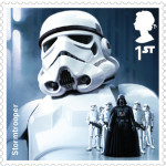 UK Stormtrooper StarWars postage stamp